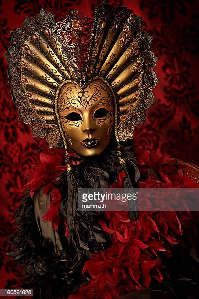 mysterious masked figure