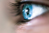 A blue mystery eye