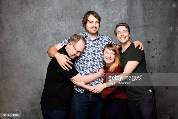 'Mystery Science Theater 3000 The Return' are photographed in the LA Times photo studio at ComicCon 2017 in San Diego CA on July 21 2017 CREDIT MUST...