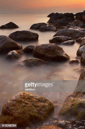 mystery sea : Stock Photo