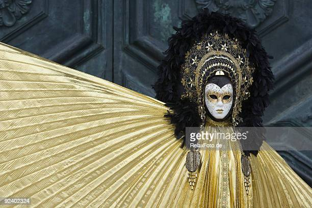 Mystic donna in maschera di carnevale a Venezia (XXL