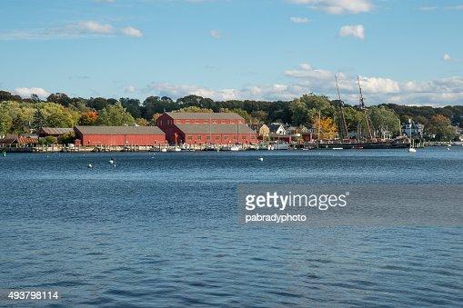 Mystic Seaport, Connecticut : Stock Photo