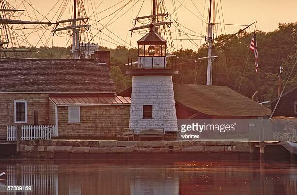 Mystic Seaport Dawn