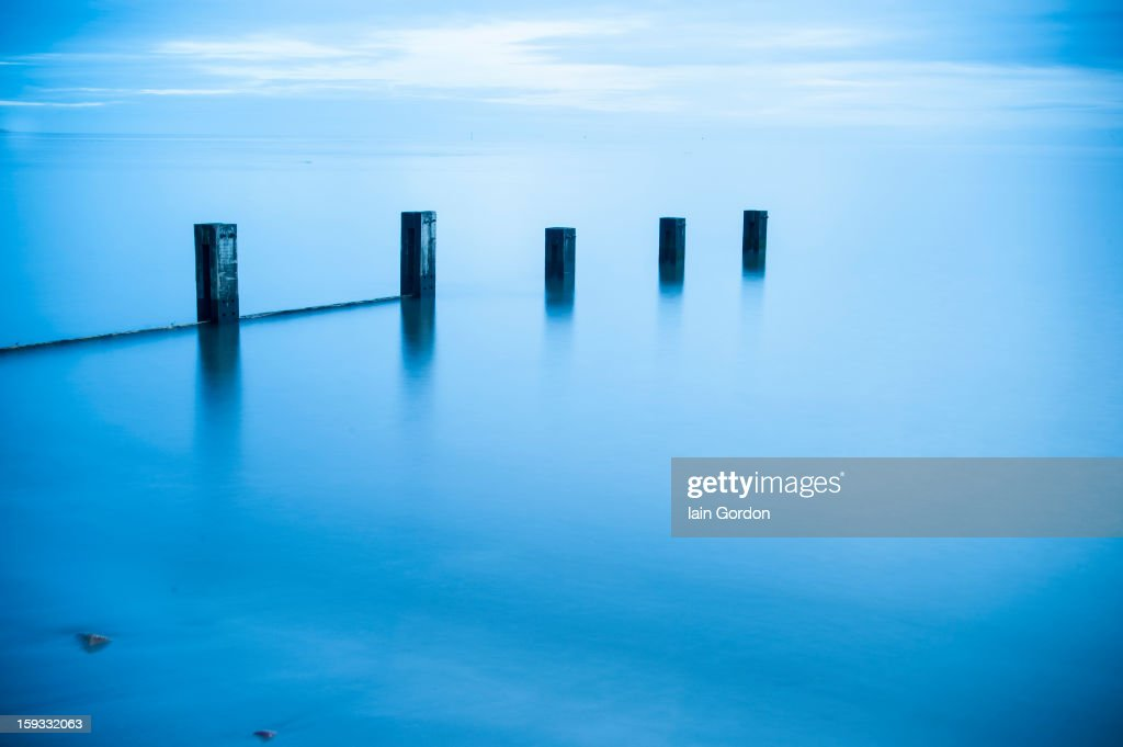 CONTENT] Mystical Blue View - Scottish Coast - lovely light and a high tide - calm and peaceful long exposure with a very tranquil result