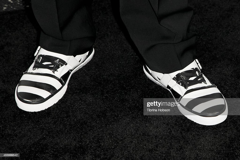 <a gi-track='captionPersonalityLinkClicked' href=/galleries/search?phrase=Mystikal&family=editorial&specificpeople=2079736 ng-click='$event.stopPropagation()'>Mystikal</a> (shoe detail) attends the 2014 BMI R&B/Hip-Hop awards at the Pantages Theatre on August 22, 2014 in Hollywood, California.