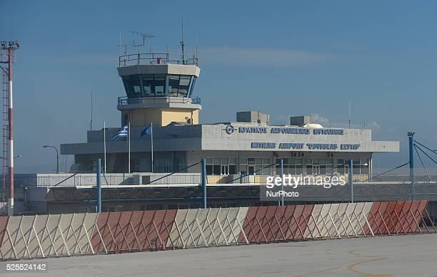 Mytilene airport Mytilene Lesbos Island Greece On Monday January 11 2016