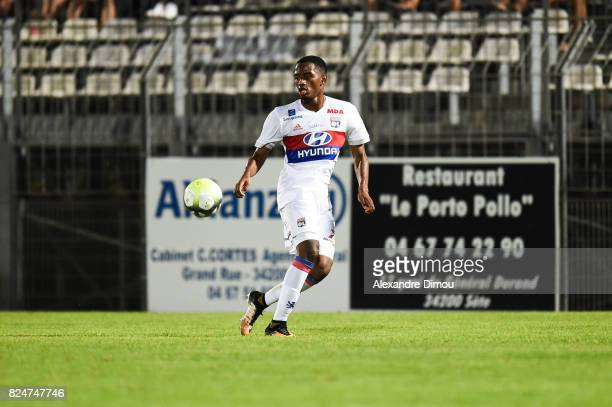 Myziane Maolida of Lyon during the Friendly match between Montpellier Herault and Olympique Lyonnais on July 30 2017 in Montpellier France