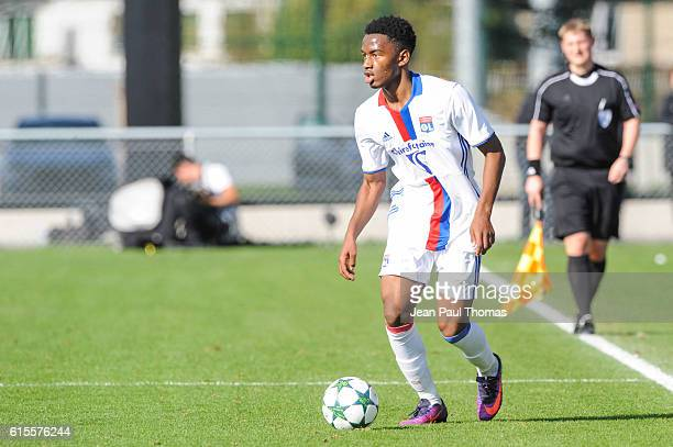 Myziane MAOLIDA of Lyon during the Youth League match between Lyon and Juventus at Plaine des Jeux de Gerland on October 18 2016 in Lyon France