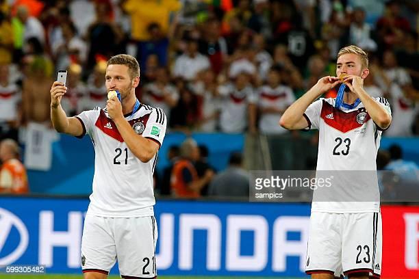 selfi Christoph Karmer Mustafi Fussball Weltmeister Deutschland Weltmeisterschafts Finale Deutschland Argentinien 10 n Verlängerung Finale final...