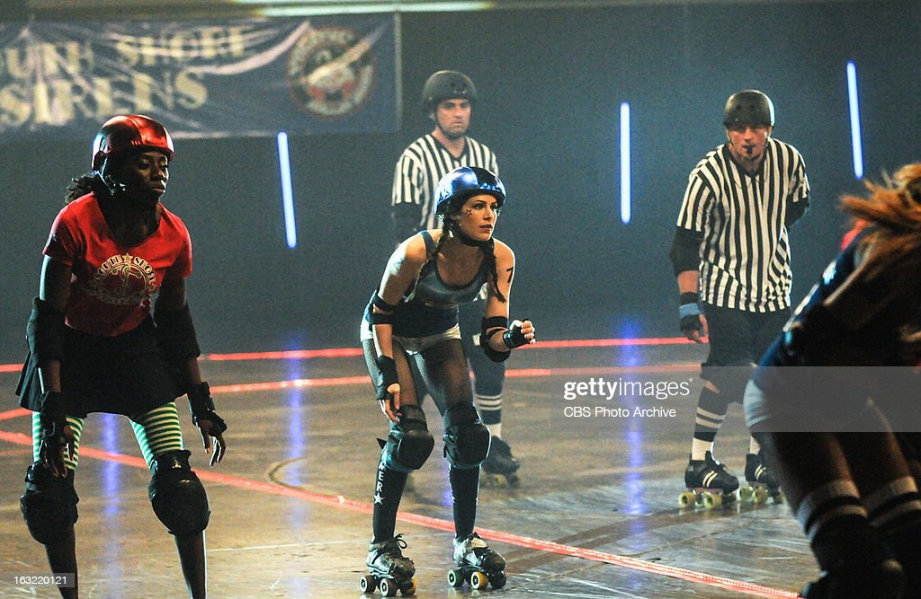 'Na Ki'i' --In order to solve a murder, Five-0 sends Catherine (Michelle Borth, center) in undercover at the local roller derby to find the culprit, on HAWAII FIVE-0, Monday, March 18 (10:00-11:00 PM, ET/PT) on the CBS Television Network.