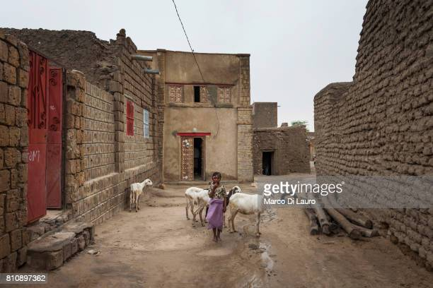 'nA Malian girl is seen in front of her house on August 10 2013 in Timbuktu Mali'nIn January 2012 a Tuareg rebellion began in Northern Mali led by...