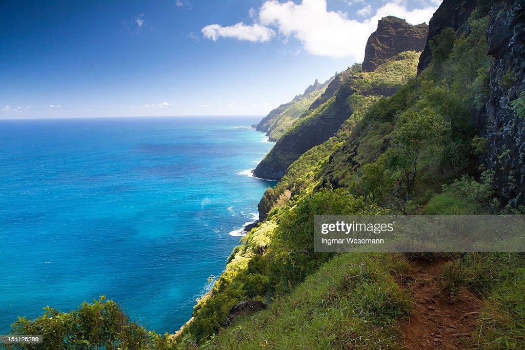 Na Pali Coast, Kauai, Hawaii : Stock Photo