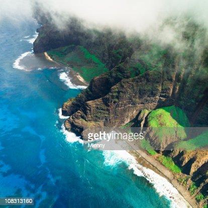 Na Pali Coast Kauai Island Hawaiian Islands