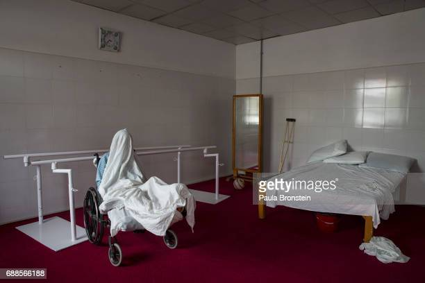 'nA patient is seen in the physical therapy room at the Emergency hospital'n As of April 2016 the Emergency hospital stated that in the first quarter...