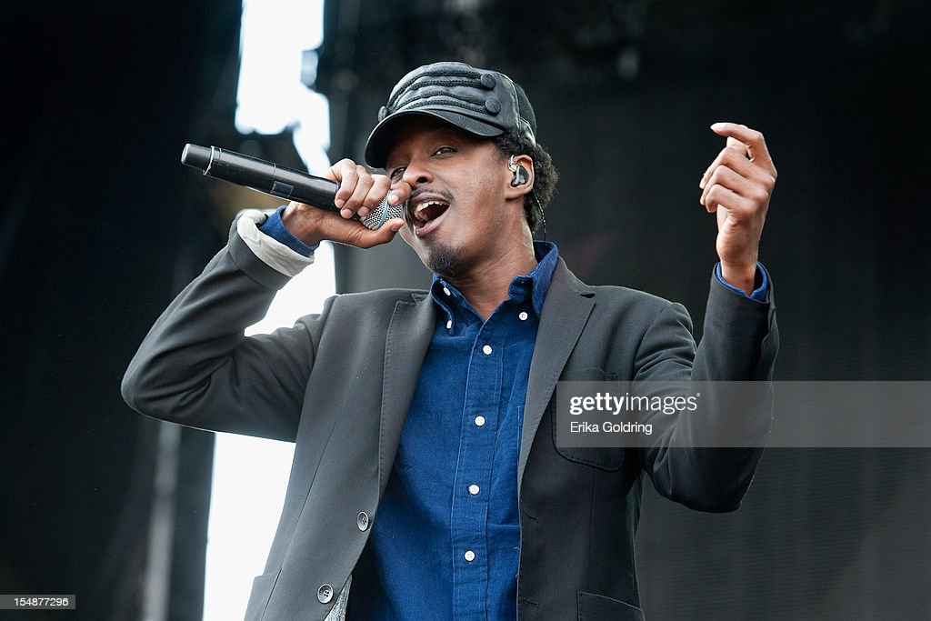 K'Naan performs during the 2012 Voodoo Experience at City Park on October 27, 2012 in New Orleans, Louisiana.