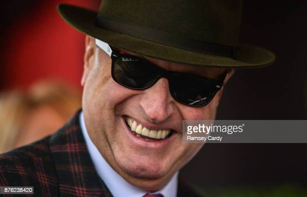 Naas Ireland 19 November 2017 Owner Rich Ricci after sending out Faugheen to win the Morgiana hurdle at Punchestown Racecourse in Naas Co Kildare