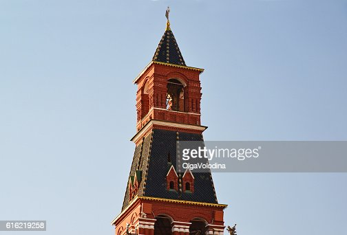 Nabatnaya tower of Moscow Kremlin, Russia : Foto stock