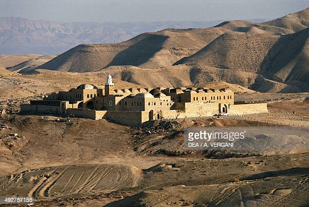 Nabi Musa Monastery in the Judean Desert The West Bank Jericho Israel