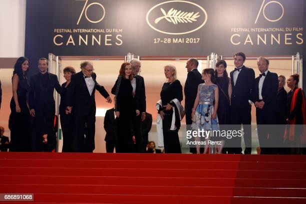 Nabiha Akkari Mathieu Kassovitz Marianne Hoepfner JeanLouis Trintignant Isabelle Huppert director Michael Haneke Susi Haneke Hassam Ghancy Fantine...