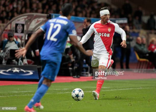Nabil Dirar during Champions League Semifinals match between Juventus v Monaco in Principality of Monaco on may 3 2017