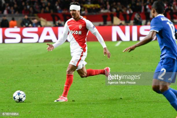 Nabil Dirar of Monaco during the Uefa Champions League match semi final first leg between As Monaco and Juventus FC at Stade Louis II on May 3 2017...