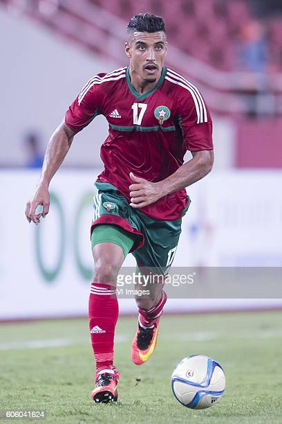 Nabil Dirar of Morocco during the Africa Cup of Nations match between Morocco and Sao Tome E Principe at September 4 2016 at the Complexe Sportif...