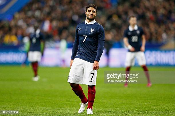 Nabil Fekir of France looks on during the International Friendly match between France and Brazil at the Stade de France on March 26 2015 in Paris...