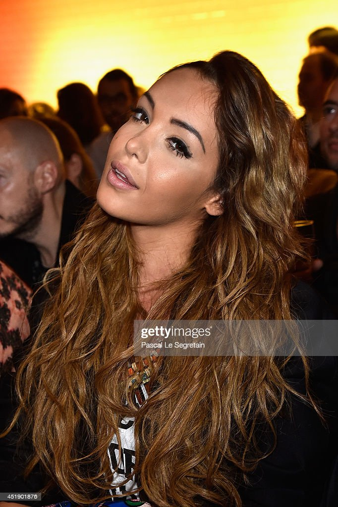 <a gi-track='captionPersonalityLinkClicked' href=/galleries/search?phrase=Nabilla+Benattia&family=editorial&specificpeople=9537253 ng-click='$event.stopPropagation()'>Nabilla Benattia</a> attends the Jean Paul Gaultier show as part of Paris Fashion Week - Haute Couture Fall/Winter 2014-2015 at 325 Rue Saint Martin on July 9, 2014 in Paris, France.