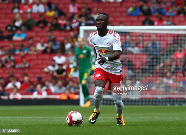 Naby Keita of RB Leipzig during Emirates Cup match between RB Leipzig against Sevilla at Emirates Stadium on 29 July 2017