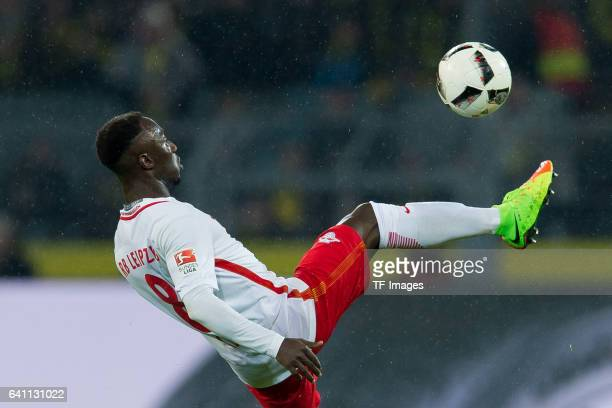 Naby Keita of RB Leipzig in action during the Bundesliga soccer match between Borussia Dortmund and RB Leipzig at the Signal Iduna Park in Dortmund...