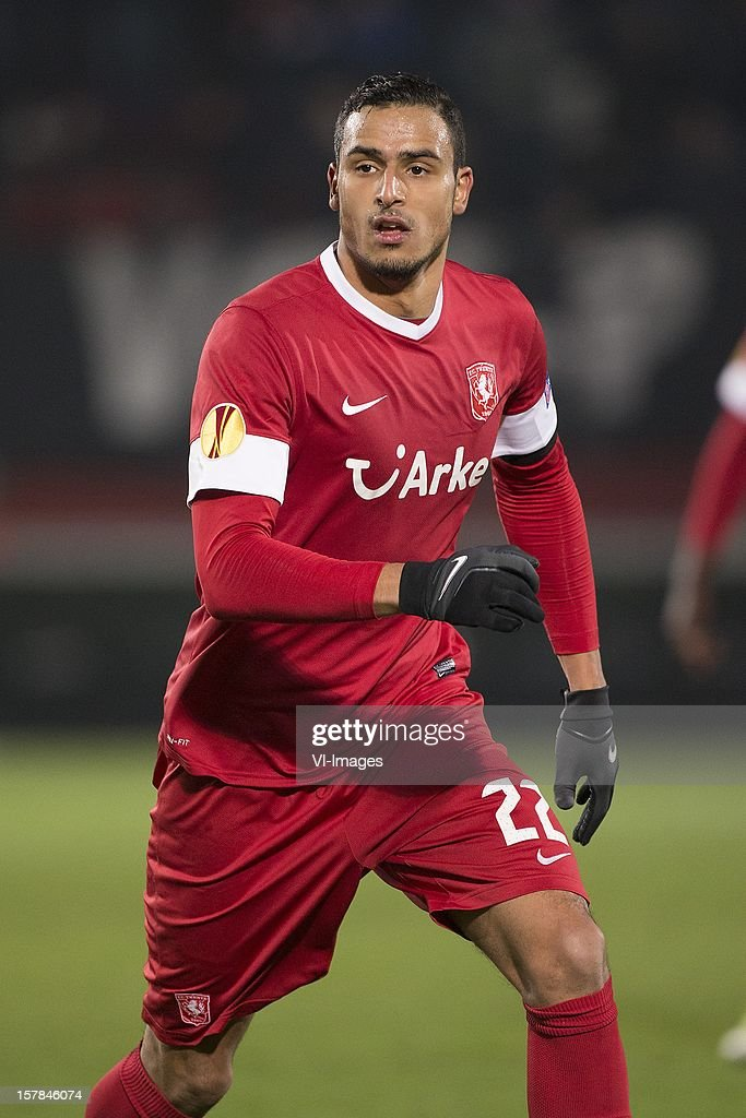 Nacer Chadli of FC Twente during the Europa League match between FC Twente and Helsingborgs IF at the Grolsch Veste on December 6, 2012 in Enschede, The Netherlands.