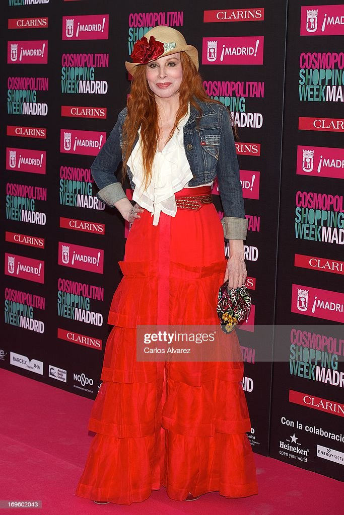 Nacha Guevara attends the 'Cosmopolitan Shopping Week' party at the Plaza de Callao on May 28, 2013 in Madrid, Spain.