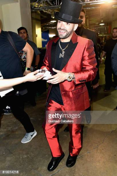 Nacho attends Univision's 'Premios Juventud' 2017 Celebrates The Hottest Musical Artists And Young Latinos ChangeMakers at Watsco Center on July 6...