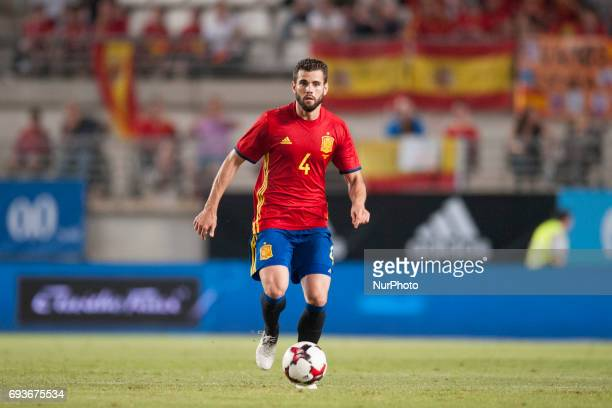 Nacho during a friendly match between national team of Spain vs Colombia in Nueva Condomina Stadium Murcia SpainWednesday June 7 2017