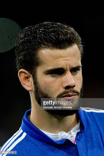 Nacho Fernandez of Real Madrid CF looks on standed at the squad«s line up prior to start the UEFA Champions League Group B match between Real Madrid...
