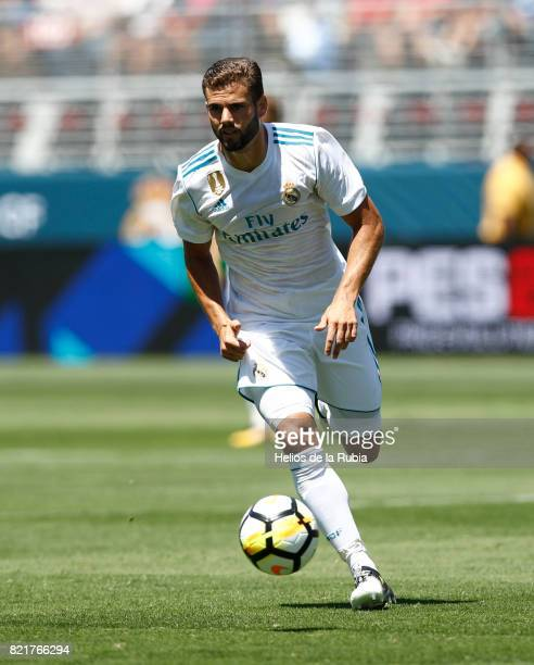 Nacho Fernandez of Real Madrid in action during the International Champions Cup 2017 match between Real Madrid v Manchester United at Levi'a Stadium...