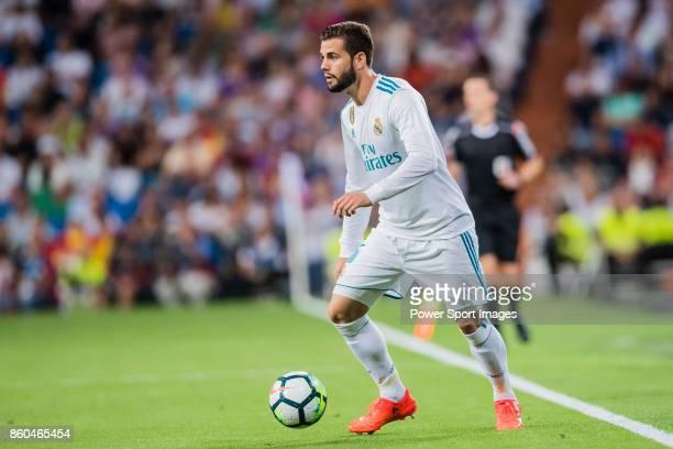 Nacho Fernandez of Real Madrid in action during the La Liga 201718 match between Real Madrid and RCD Espanyol at Estadio Santiago Bernabeu on 01...