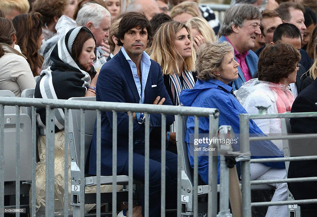 Nacho Figuera and <a gi-track='captionPersonalityLinkClicked' href=/galleries/search?phrase=Delfina+Blaquier&family=editorial&specificpeople=4418052 ng-click='$event.stopPropagation()'>Delfina Blaquier</a> attend the Sentebale Concert at Kensington Palace on June 28, 2016 in London, England. Sentebale was founded by Prince Harry and Prince Seeiso of Lesotho over ten years ago. It helps the vulnerable and HIV positive children of Lesotho and Botswana.