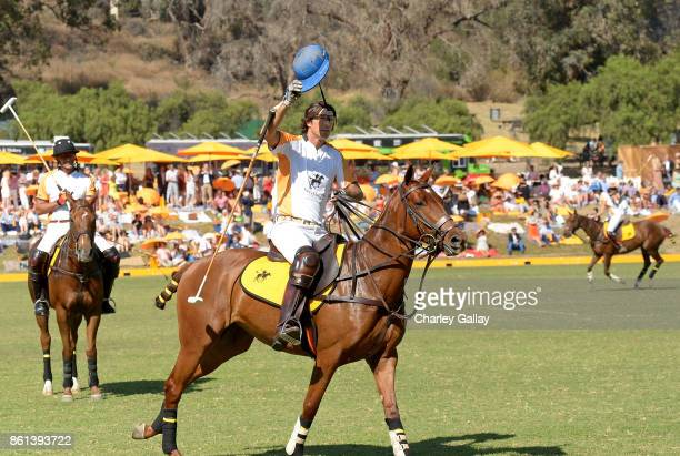 Nacho Figueras at the Eighth Annual Veuve Clicquot Polo Classic on October 14 2017 in Los Angeles California