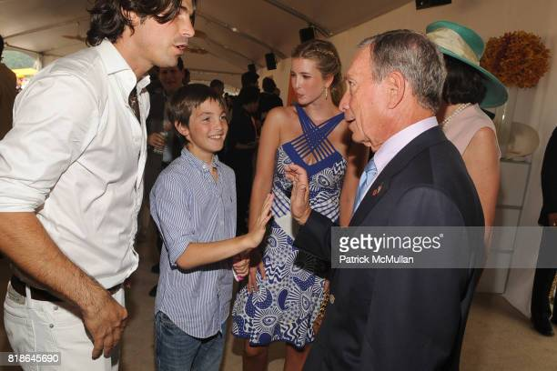 Nacho Figueras Hilario Figueras Ivanka Trump and Mayor Michael Bloomberg attend 2010 VEUVE CLICQUOT Polo Classic at Governors Island on June 27 2010...