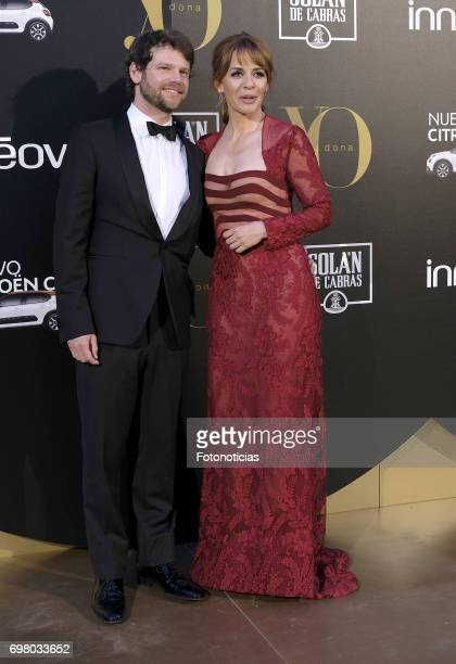 Nacho Medrano and Maria Adanez attend the 'Yo Dona' International Awards at the Palacio de los Duques de Pastrana on June 19 2017 in Madrid Spain