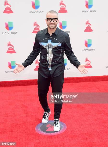 Nacho 'Miguelito' Mendoza attends The 18th Annual Latin Grammy Awards at MGM Grand Garden Arena on November 16 2017 in Las Vegas Nevada