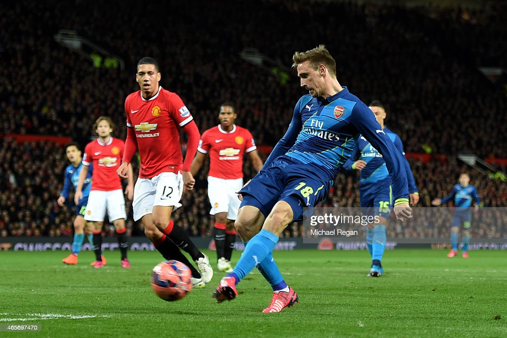 Manchester United v Arsenal - FA Cup Quarter Final