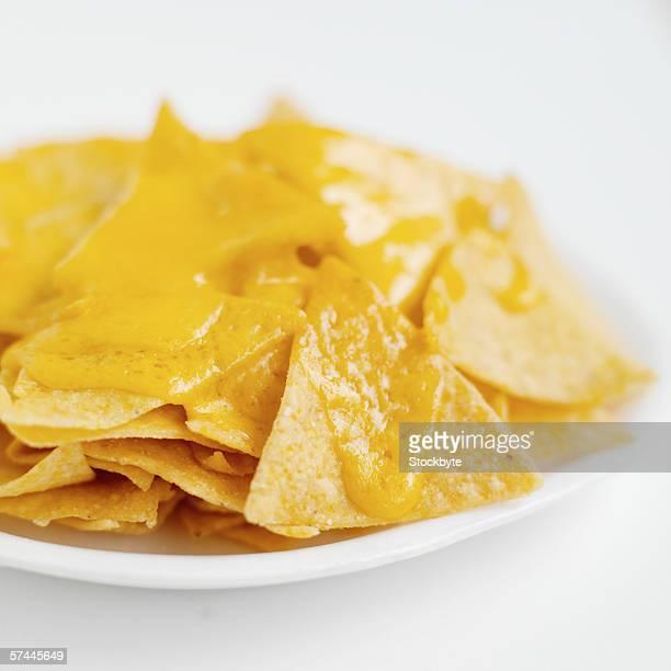 Nachos and cheese