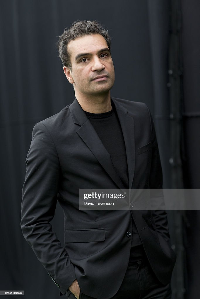 Nadeem Aslam, writer, attends The Telegraph Hay festival at Dairy Meadows on May 26, 2013 in Hay-on-Wye, Wales.