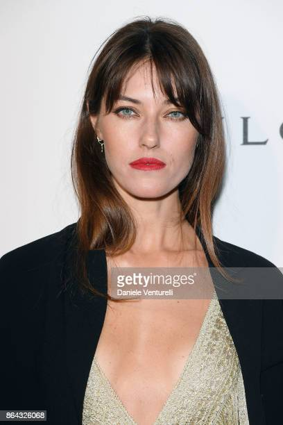 Nadejda Savcova attends a party to celebrate the Bvlgari Flagship Store Reopening on October 20 2017 in New York City