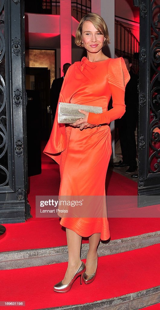 Nadeshda Brennicke attends the Dressvegas Party at Heart Private Club on May 29, 2013 in Munich, Germany.