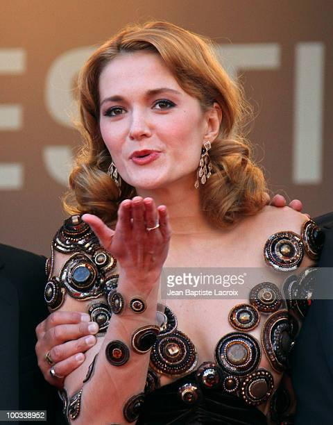 Nadezhda Mihalkova attends the 'Exodus Burnt By The Sun 2' Premiere held at the Palais des Festivals during the 63rd Annual International Cannes Film...