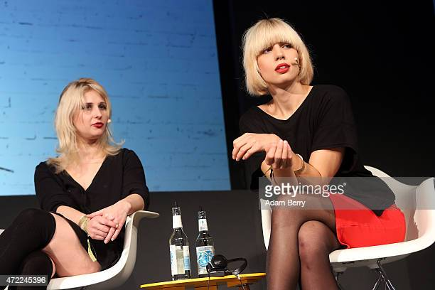 Nadezhda Nadya Tolokonnikova founding member of the Russian activist group Pussy Riot and Maria Alyokhina founding member of the Russian activist...