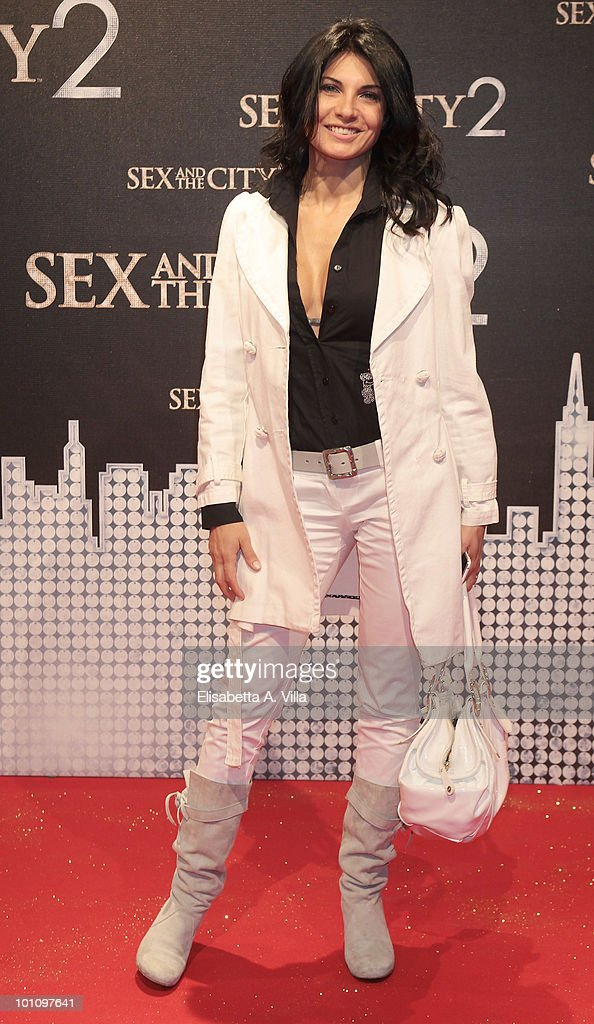 Nadia Bengala attends 'Sex & The City 2' premiere at Warner Moderno Cinema on May 27, 2010 in Rome, Italy.